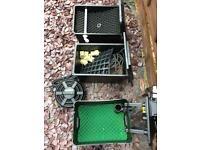 Pond filters & Pump