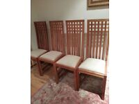 Quality Modern Dining Chairs two left