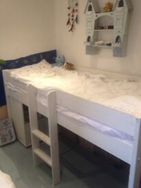 no longer available: Fun and practical Stompa mid-sleeper children's bed