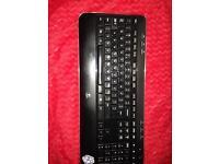 Wireless pc keyboard