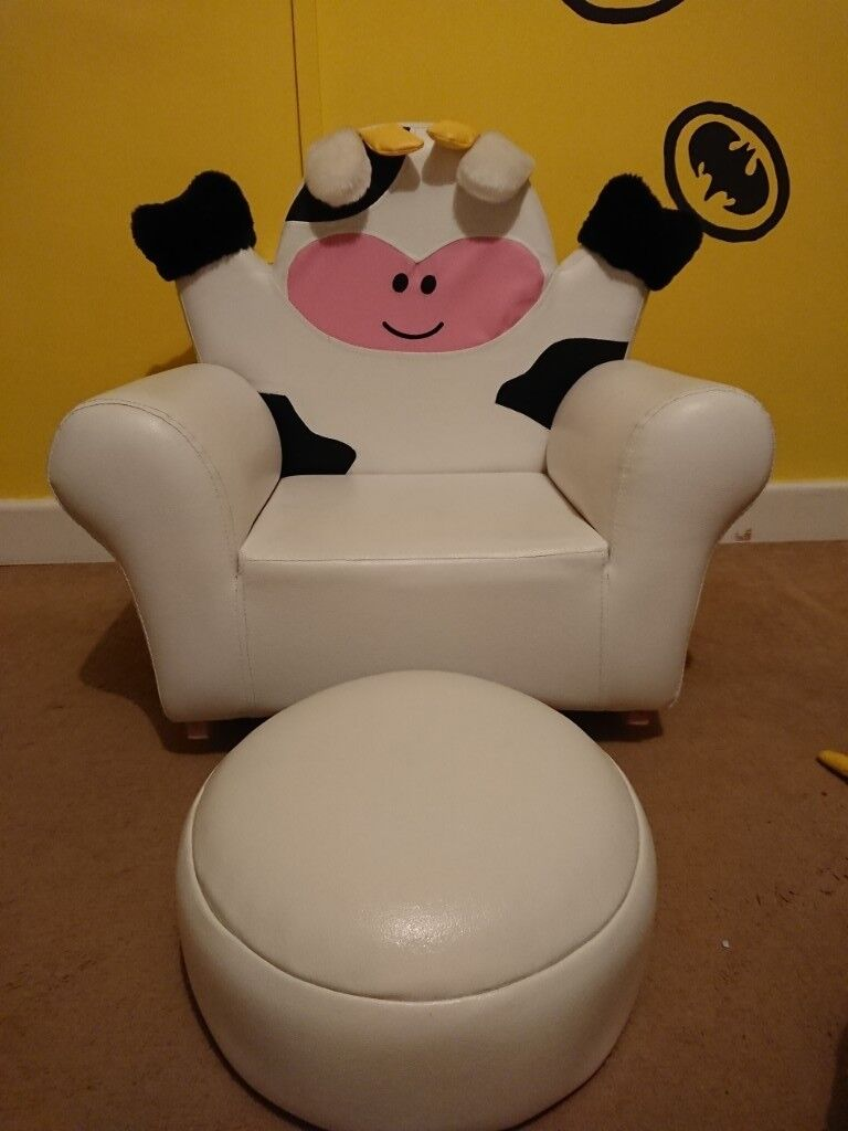 Kids Chair And Foot Stool