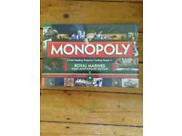 Royal Marines 350th Anniversary Monopoly set
