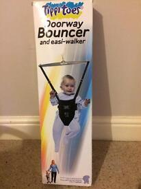 Baby doorway bouncer