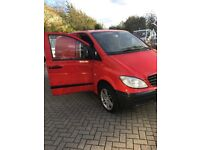 Mercedes Vito 111 compact very low miles no vat to clear