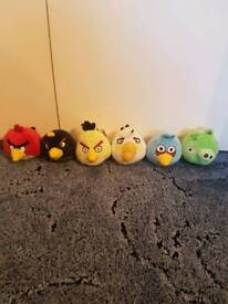 Angry Birds Soft Toys With Noises - Excellent Condition