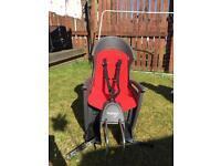Child's Hamax bike seat