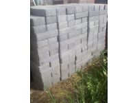 Various block pavers and edges