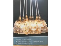 Stylish Cluster Light Fitting - New and Boxed