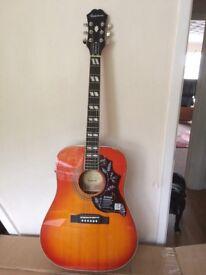 Epiphone humming bird Electric acoustic guitar