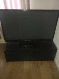 "LG 50"" TV WITH STAND £200"