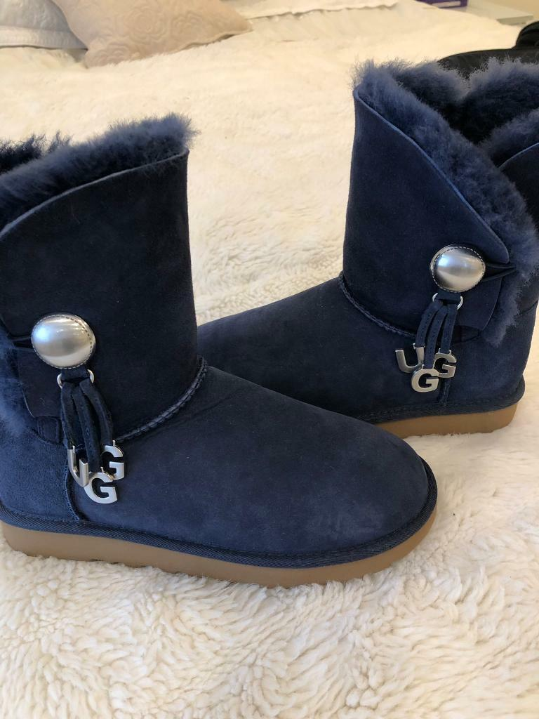 c594e307615 Ladies gorgeous genuine Blue UGG boots uk size 4.5 | in Liverpool,  Merseyside | Gumtree
