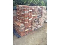 Reclaimed Victorian red clay bricks