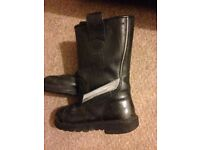 Jolly Leather Firefighter Fire Ultimate Rigger BOOTS Goretex Waterproof Size 8