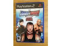 PlayStation 2 Smackdown vs Raw 2008 featuring ECW