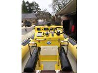 Aquaflyte 8.0Meter RIB Honda 225hp V6 vtec engine with trailer!