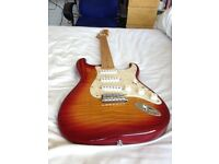 Fender Stratocaster Foto Flame RARE Made in Japan