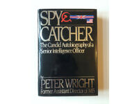 Near fine USA first edition of Spy Catcher by Peter Wright