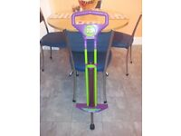 Childs Purple & Green Pogo/Moon Stick - Used. Excellent Condition.