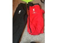 Liverpool training tracksuit xlb
