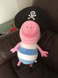 Peppa Pig George the Pirate soft toy