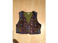 East embellished waistcoat, size small, never worn, originally cost £60