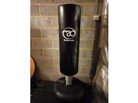 Boxing Mad Free Standing Punchbag - Black. Rarely used, in great condition