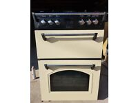 Double oven and gas cooker