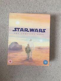 Star Wars complete saga boxset
