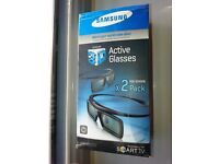 NEW boxed and unopened Samsung SSG 3050 GB / SSG P30502 Active 3d Glasses Smart TV