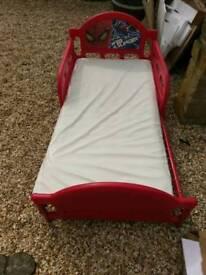 Spiderman children's bed
