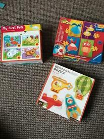 Nursery jigsaw all pieces for 2+ kids