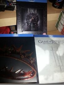 Game of throne series 1-2-3
