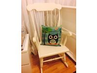 Shabby chic rocking /nursery chair