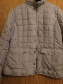 JACKET: DUBARRY LADIES Quilted Jacket, size 14