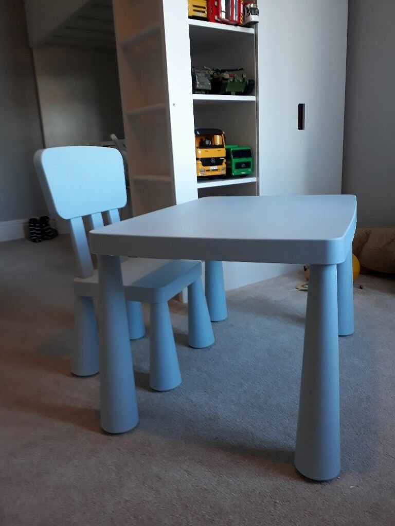 Ikea Mammut Children S Table And Chair
