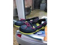 'Crocs' deck shoes/sandals ~ women's size 6