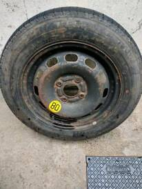 Spare wheel/tire fit ford fiesta mk5