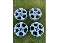 Ford Fiesta ST/Zetec S Alloy Wheels Silver 17 Inch x 4