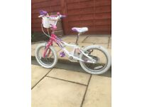 "GIANT PUDD'N 16"" GIRLS BIKE IN EXCELLENT USED CONDITION"