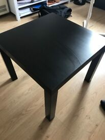 Black Wood Coffee Table - Excellent Condition