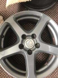 "17"" Gunmetal Grey Honda Wheels x4"