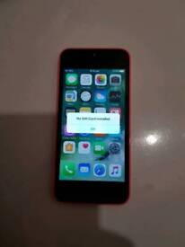 IPhone 5c 16gb pink unlocked mobile phone