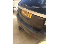 Saab 9-3 Estate with private plate Non-Runner