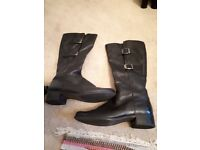 Gabor ladies leather boots size 6