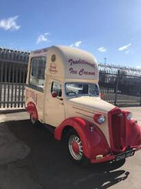ICE CREAM VAN HIRE - 1939 WOLSELEY