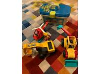 FREE children's toys. Helicopter, digger and doctors kit.