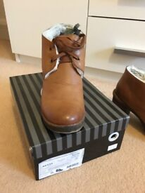 Women's genuine leather winter boots