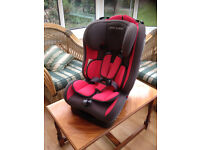 Pampero Cherub Baby Car Safety Seat in Pink *Currently Reserved until Tuesday afternoon*