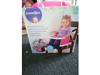 Deluxe booster seat (,pink)