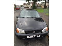 Black Ford Fiesta 2001 1299cc